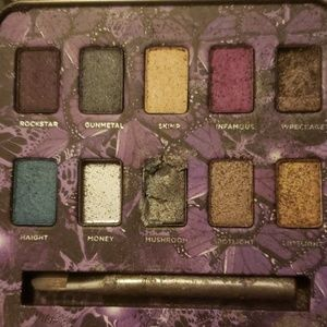 Urban Decay rare Mariposa pallet missing some colo